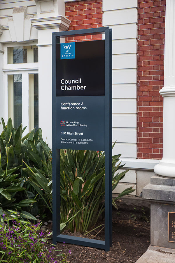 Darebin council signage