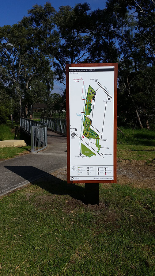 Greater Dandenong council signage