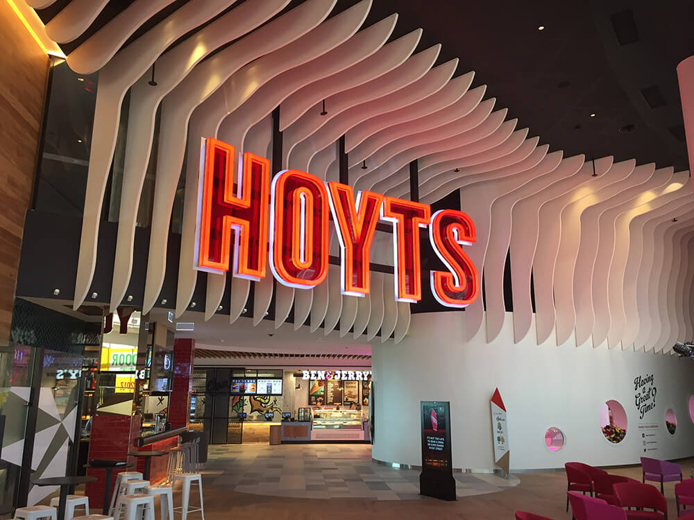 Hoyts signage